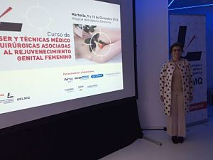 Mercè Anarte, curso de rejuvenecimiento genital, Marbella diciembre 2016