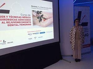 Optim laser asiste a la jornadas de rejuvenecimiento genital femenino con cirugía y láser. Málaga 2017