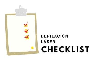 lista con los preparativos antes y los cuidados despues de la depilación laser, optim laser sabadell terrassa granollers