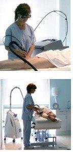 enfermera de laser centro medico de depilacion laser alejandrita en terrassa sabadell granollers