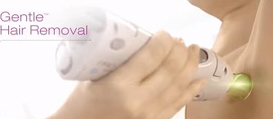 la pieza de mano de un laser de depilación alejandrita
